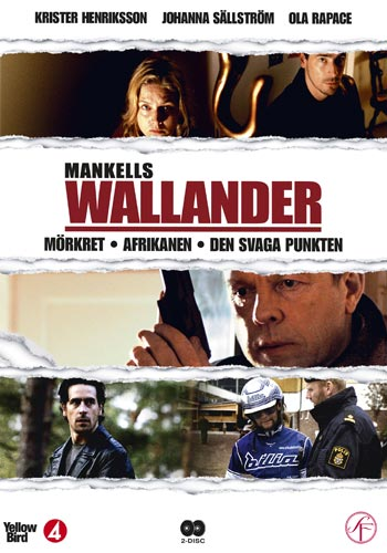Wallander vol 2 - 3 filmer