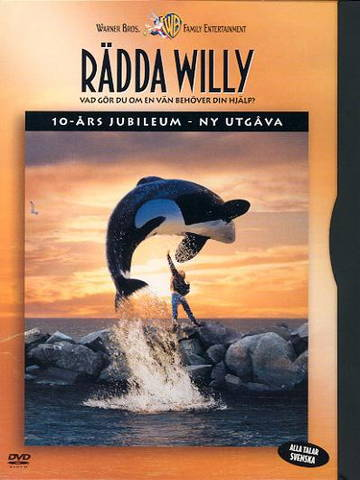 Rädda Willy - DVD